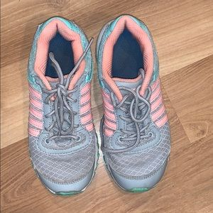 K-swiss girl's sports shoes gray size 13